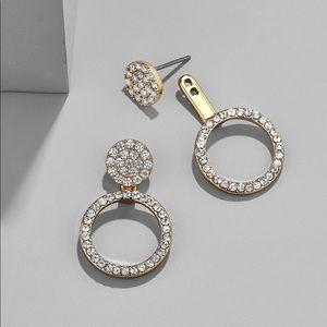 Jewelry - Hoop Ear Jacket Earrings